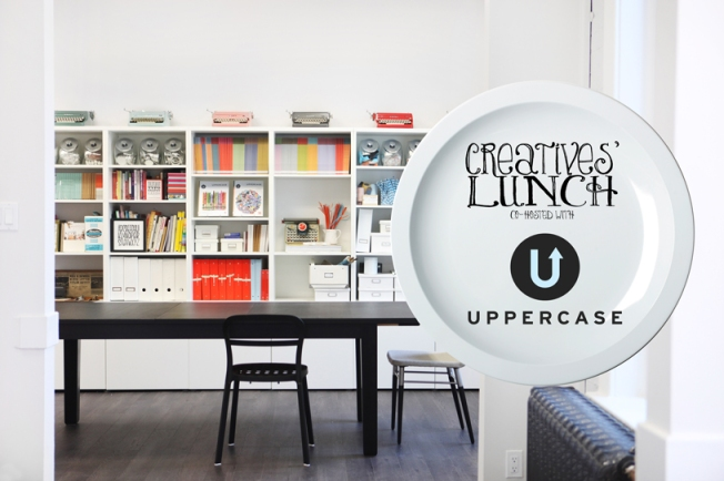 Lunch at UPPERCASE